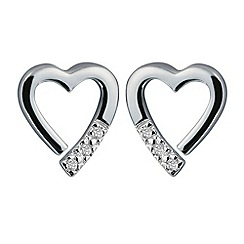 Hot Diamonds - Sterling silver 'Memories' earrings