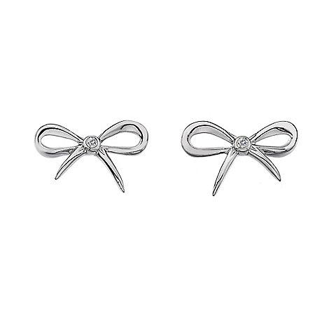 Hot Diamonds - Sterling silver +Flourish+ earrings