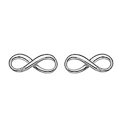 Hot Diamonds - Sterling silver 'Infinity' earrings