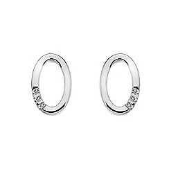 Hot Diamonds - Sterling silver 'Halo' earrings