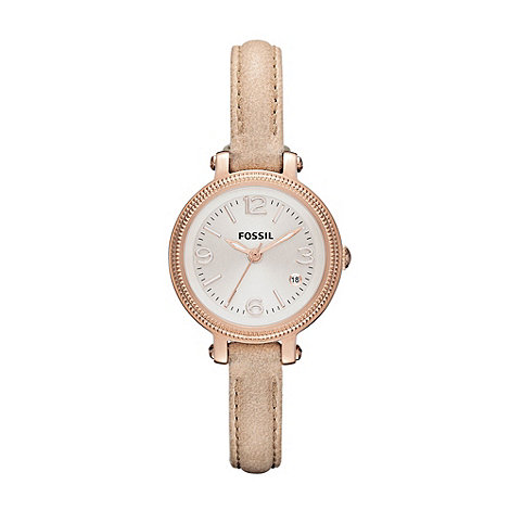Fossil - Ladies rose small dial watch