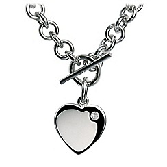 Hot Diamonds - Sterling silver 'Lovelocked' necklace