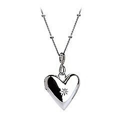 Hot Diamonds - Sterling silver 'Spontaneous' locket pendant
