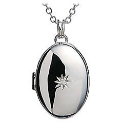Hot Diamonds - Sterling silver 'Inheritance' locket pendant