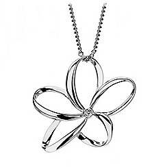 Hot Diamonds - Sterling silver 'Paradise pendant'