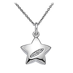 Hot Diamonds - Sterling silver 'Shooting Stars Star' pendant
