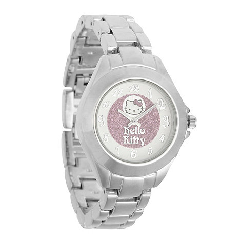 Hello Kitty - Kids+ silver +hello kitty+ bracelet watch