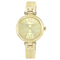 Anne Klein - Ladies gold bangle bracelet watch
