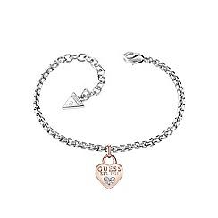 Guess - Heart charm bracelet