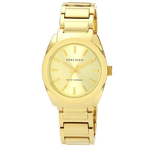 Anne Klein - Ladies gold bracelet watch