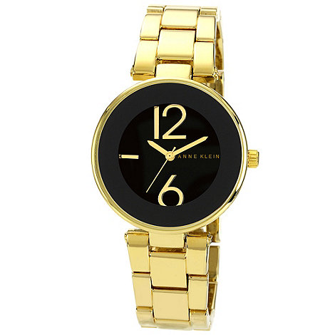 Anne Klein - Ladies black dial bracelet watch