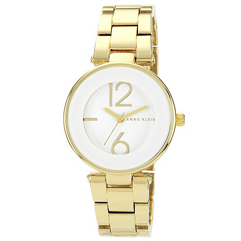 Anne Klein - Ladies white dial bracelet watch