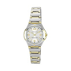 Anne Klein - Ladies silver round dial multi link watch 10/n8655svtt