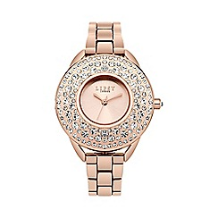 Lipsy - Ladies rose gold tone bracelet watch lp444
