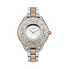 Lipsy - Ladies two tone bracelet watch lp476