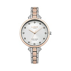 Lipsy - Ladies two tone bracelet watch lp484