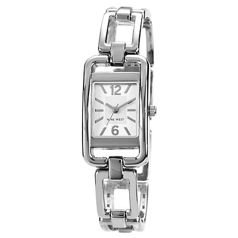Nine West - Ladies silver bracelet watch