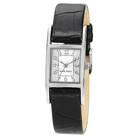 Nine West - Ladies black square dial watch