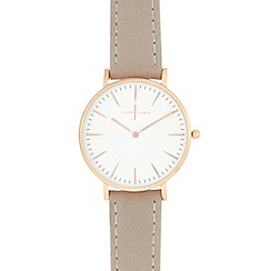 J by Jasper Conran - Ladies' grey analogue watch