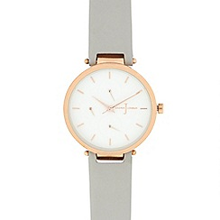 J by Jasper Conran - Ladies' light grey analogue watch
