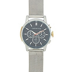 Red Herring - Men's silver mesh strap analogue watch