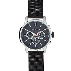 Red Herring - Men's mesh analogue watch