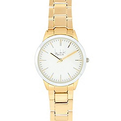 Principles by Ben de Lisi - Ladies' gold linked analogue watch