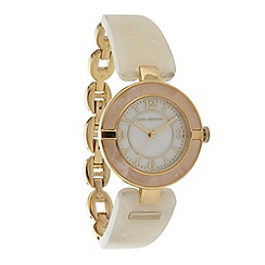 RJR.John Rocha - Designer ladies cream pearlescent lugs watch