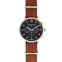 Red Herring - Men's tan analogue watch