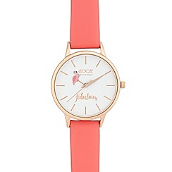 Floozie by Frost French - Ladies' dark pink 'Fabulous' analogue watch