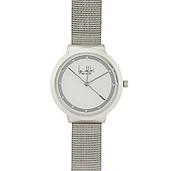 Principles - Ladies silver mesh watch