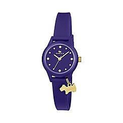 Radley - Watch It Ladies Blue Silicone Strap Watch ry2436
