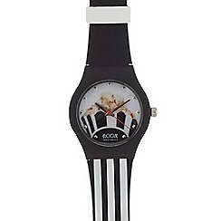 Floozie by Frost French - Ladies' black popcorn analogue watch