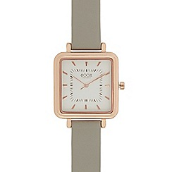 Floozie by Frost French - Ladies grey square watch