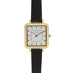 Floozie by Frost French - Ladies black square watch