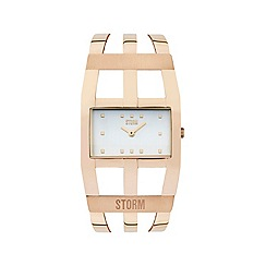STORM London - Ladies rose gold zoa watch