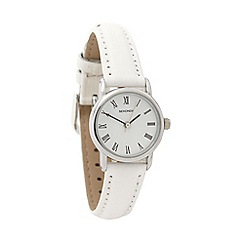 Sekonda - Ladies white round dial watch