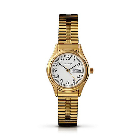 Sekonda - ladies white dial quartz analgue watch