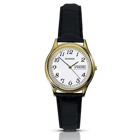 Sekonda - Ladies gold plated quartz analogue watch 4925.28