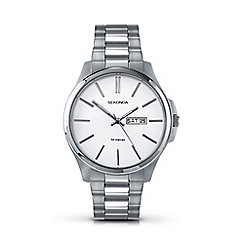 Sekonda - Men's silver large round dial watch