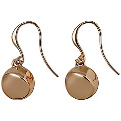 Pilgrim - Manuela rose gold earrings