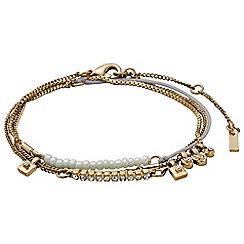 Pilgrim - Gold plated bracelet