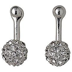 Pilgrim - Amalia silver plated earrings