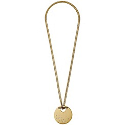 Pilgrim - Classic gold plated necklace