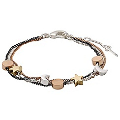 Pilgrim - Classic mix metal bracelet