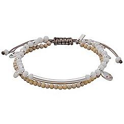 Pilgrim - Silver plated multi bracelet