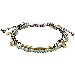 Pilgrim - Gold plated multi bracelet