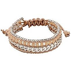 Pilgrim - Silver plated bracelet