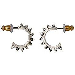 Pilgrim - Silver plated earrings