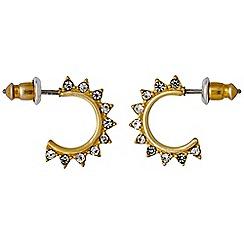 Pilgrim - Gold plated earrings